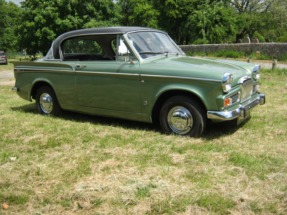 1964 SUNBEAM RAPIER SERIES IV. PILLARLESS COUPE. 1600cc. SOLD (picture 1 of 6)
