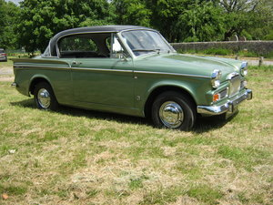 1964 SUNBEAM RAPIER SERIES IV. PILLARLESS COUPE. 1600cc. SOLD