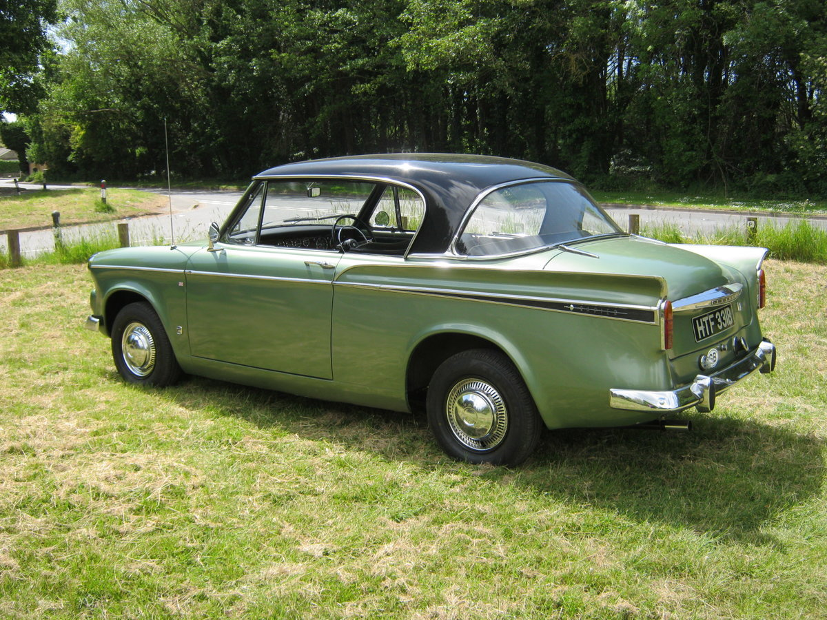 1964 SUNBEAM RAPIER SERIES IV. PILLARLESS COUPE. 1600cc. SOLD (picture 3 of 6)