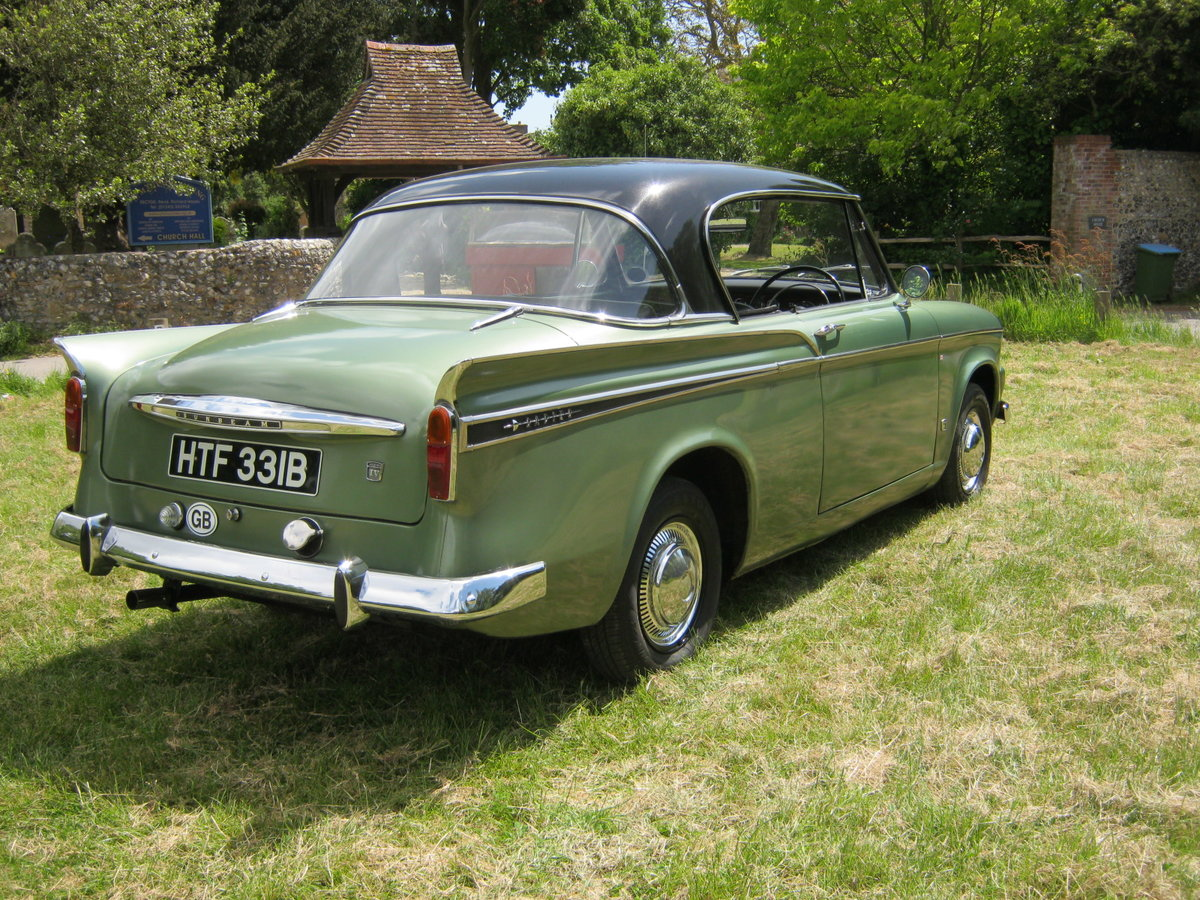 1964 SUNBEAM RAPIER SERIES IV. PILLARLESS COUPE. 1600cc. SOLD (picture 4 of 6)