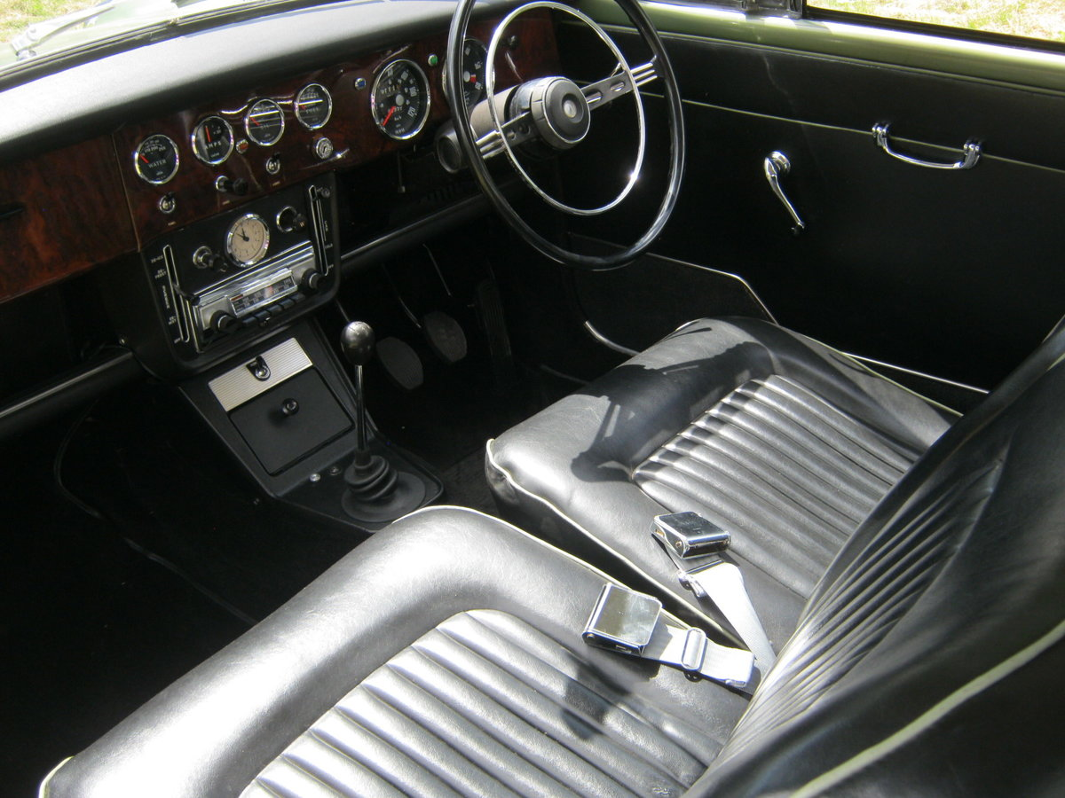 1964 SUNBEAM RAPIER SERIES IV. PILLARLESS COUPE. 1600cc. SOLD (picture 5 of 6)