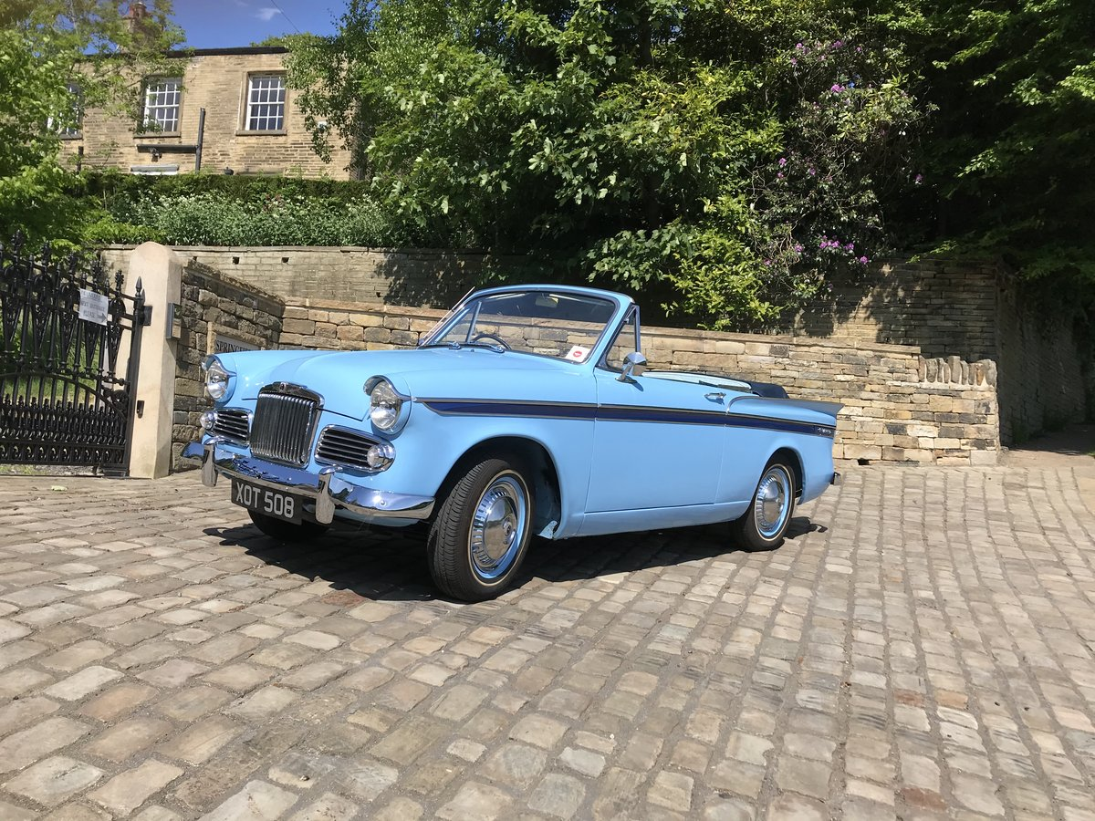 1960 SUNBEAM RAPIER Mk3 CONVERTIBLE ~Stunning~ For Sale (picture 1 of 6)