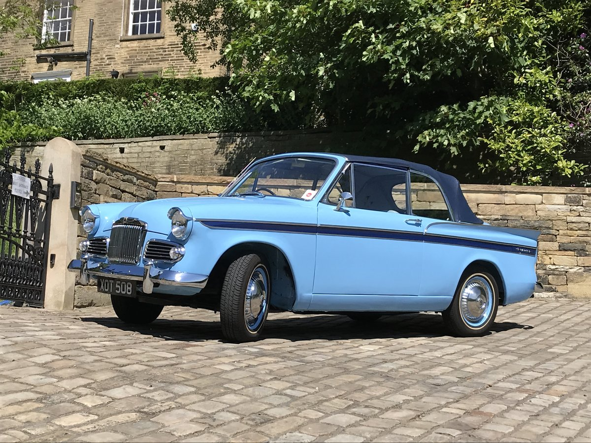 1960 SUNBEAM RAPIER Mk3 CONVERTIBLE ~Stunning~ For Sale (picture 2 of 6)