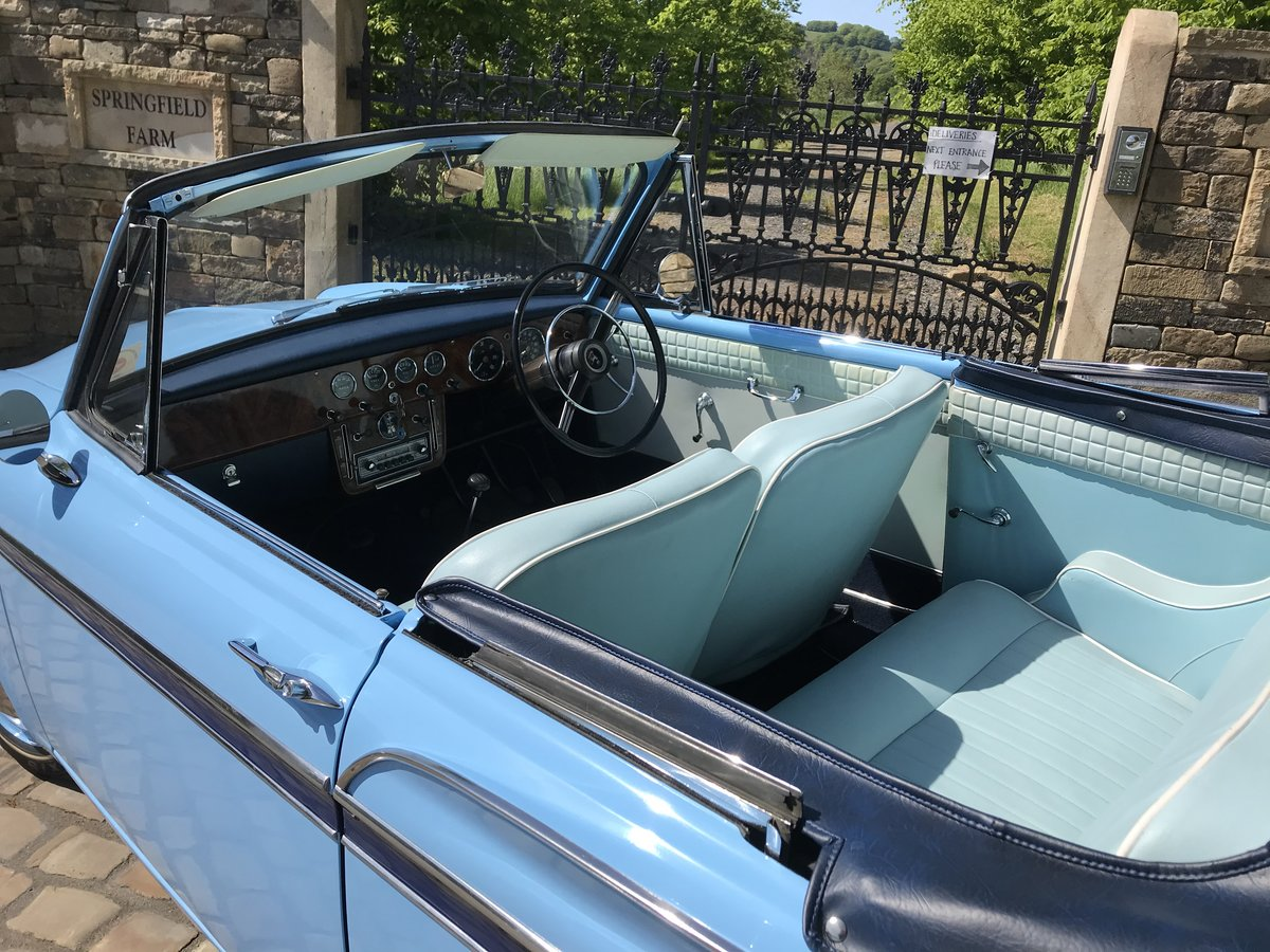 1960 SUNBEAM RAPIER Mk3 CONVERTIBLE ~Stunning~ For Sale (picture 4 of 6)