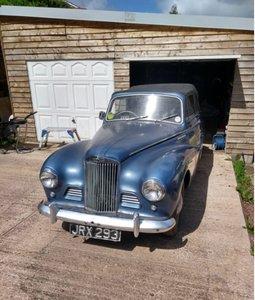 1954 Sunbeam Talbot 90 mk2a drophead coupe