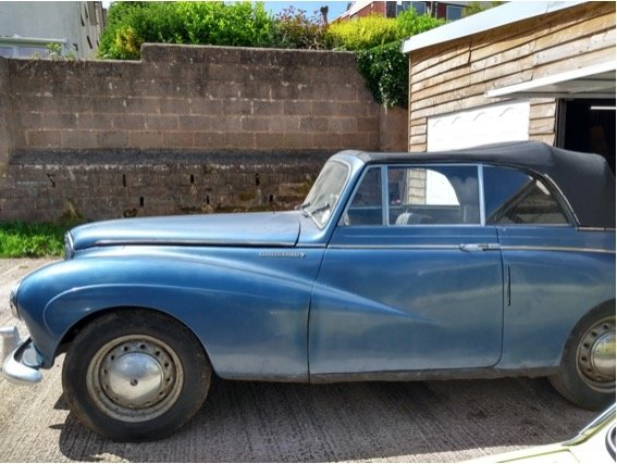 1954 Sunbeam Talbot 90 mk2a drophead coupe SOLD (picture 4 of 5)