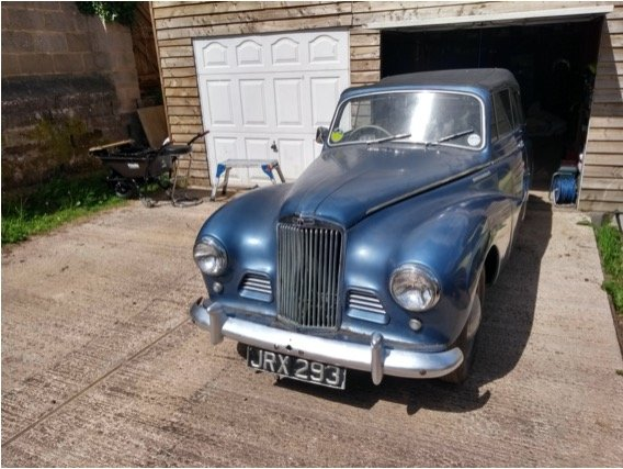 1954 Sunbeam Talbot 90 mk2a drophead coupe SOLD (picture 5 of 5)