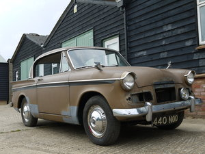 1963 SUNBEAM RAPIER 3A - STRAIGHTFORWARD RESTORATION PROJECT !!  SOLD