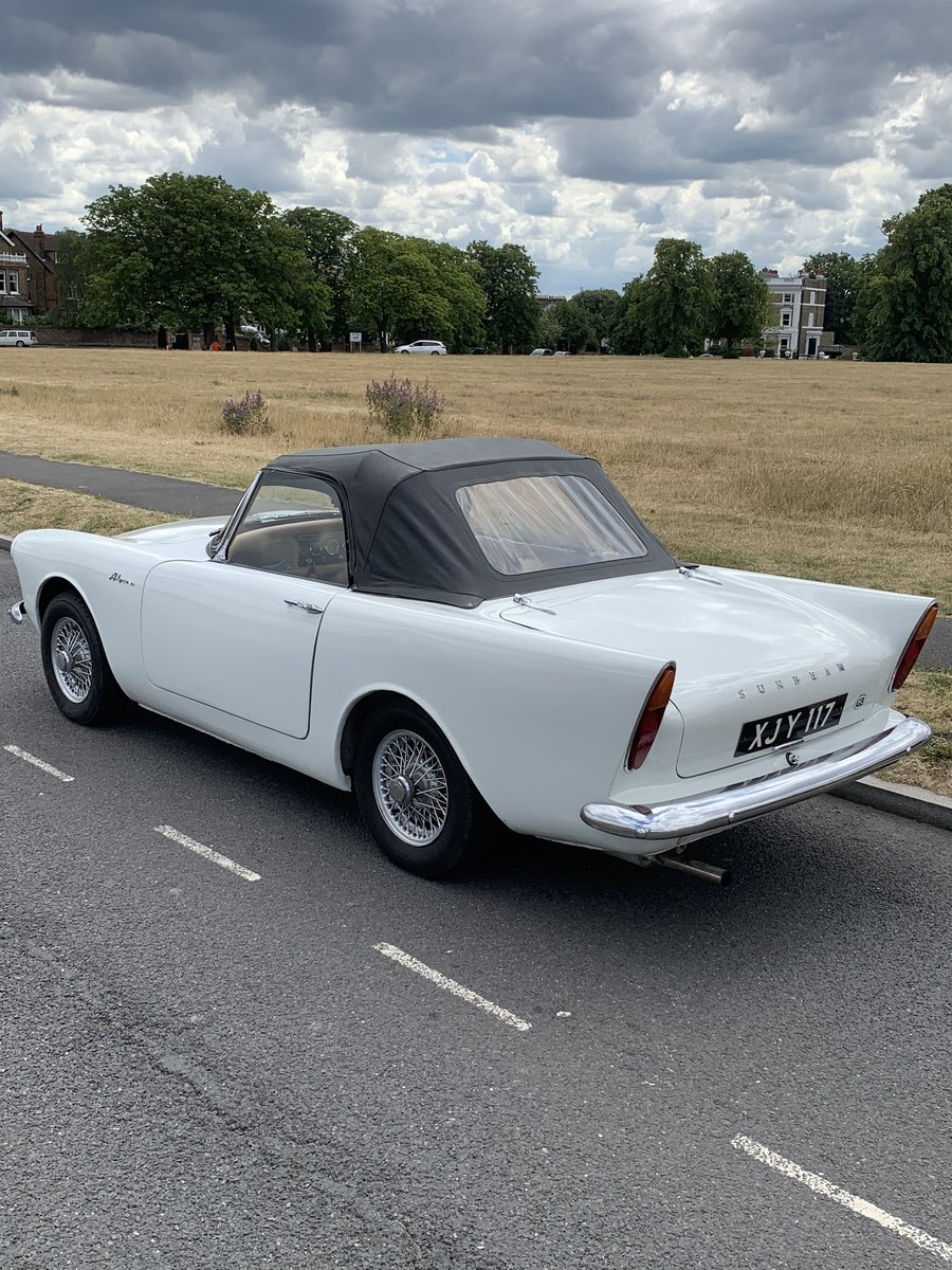1963 SUNBEAM Alpine Beautiful, much admired classic For Sale (picture 3 of 6)