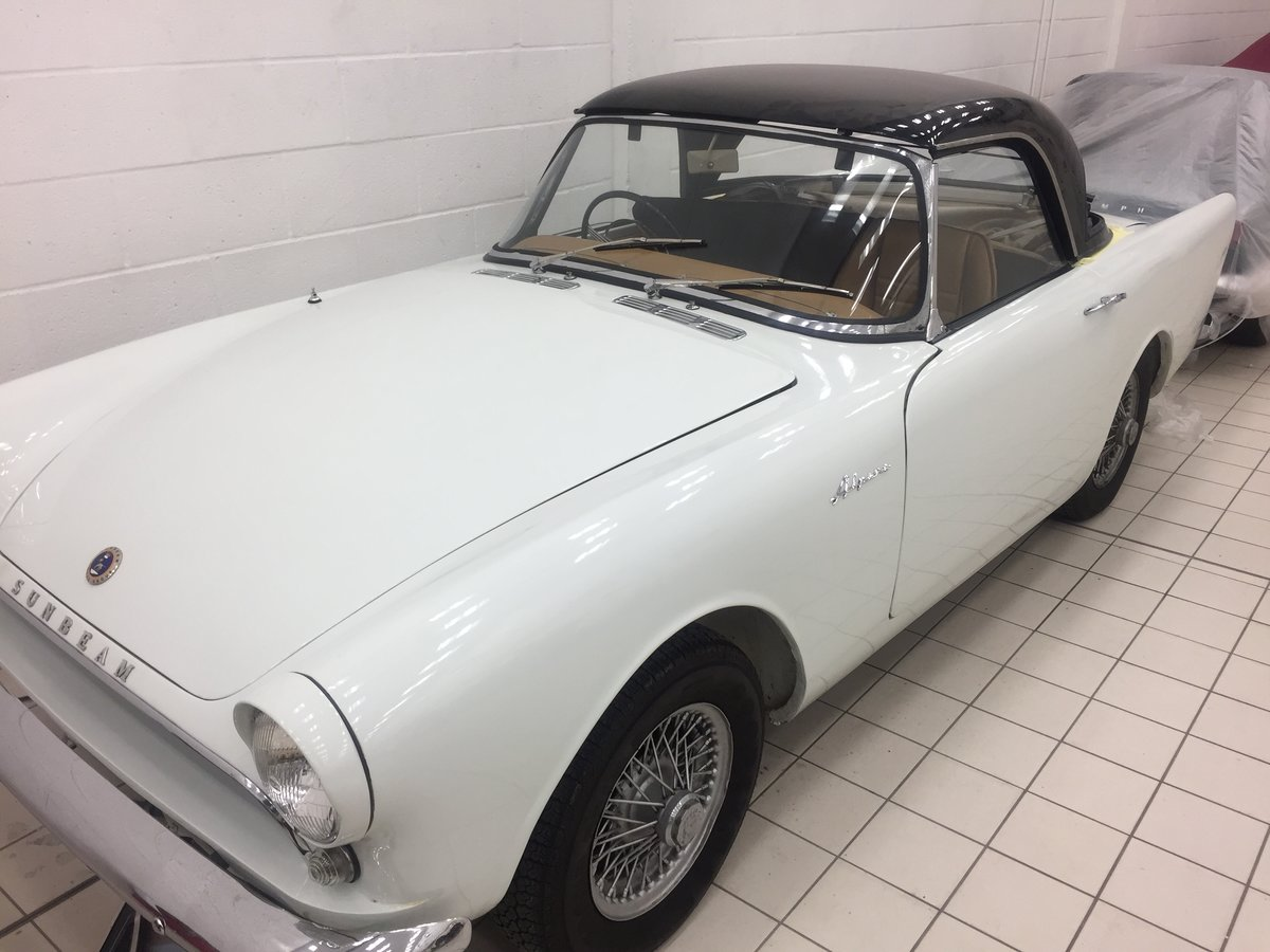 1963 SUNBEAM Alpine Beautiful, much admired classic For Sale (picture 4 of 6)