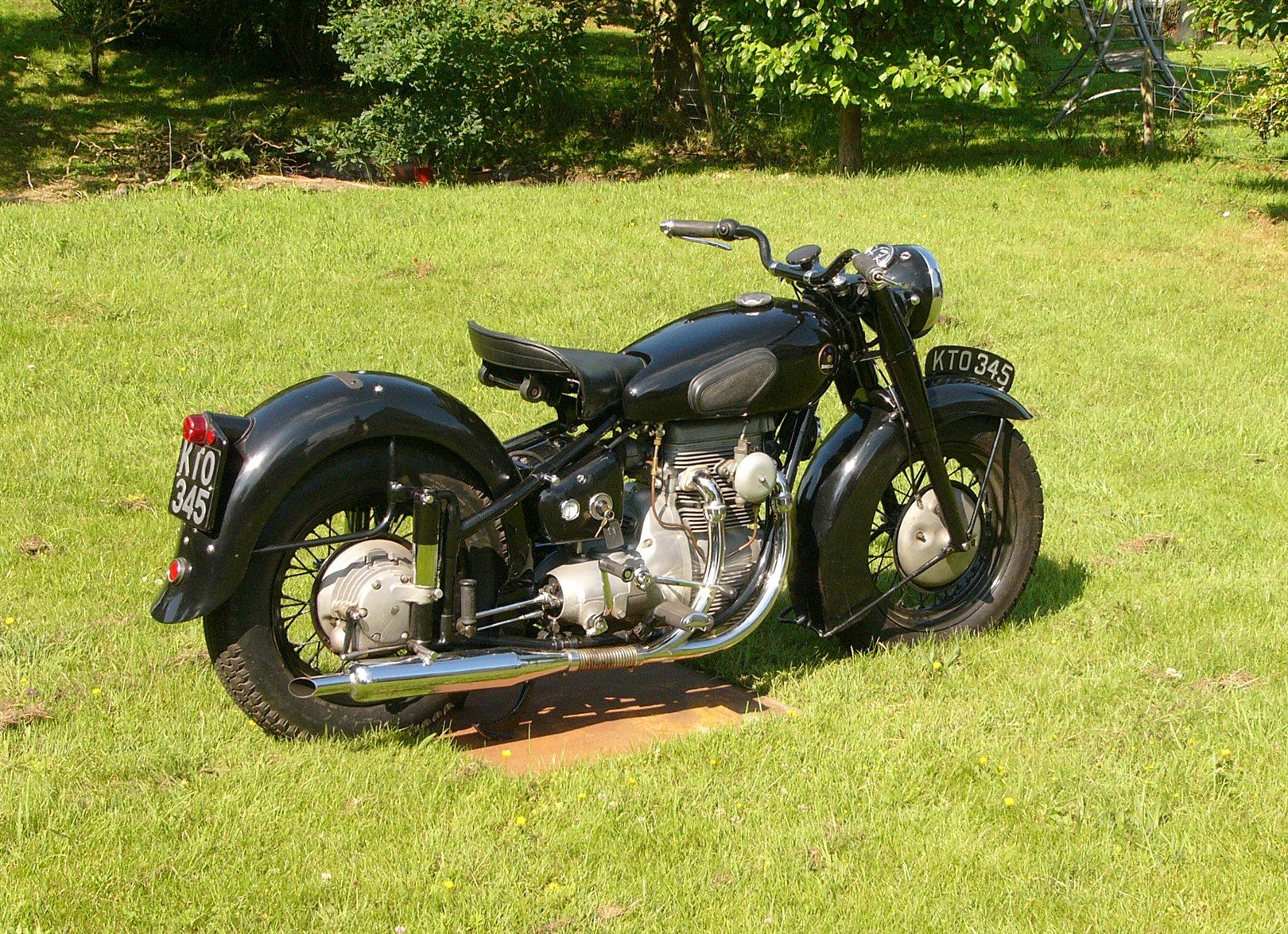 1948 Sunbeam S7 - museum standard & On-The-Road SOLD (picture 2 of 6)