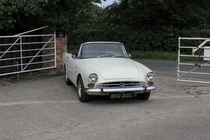 1965 Sunbeam Alpine Series IV 1725cc UK RHD
