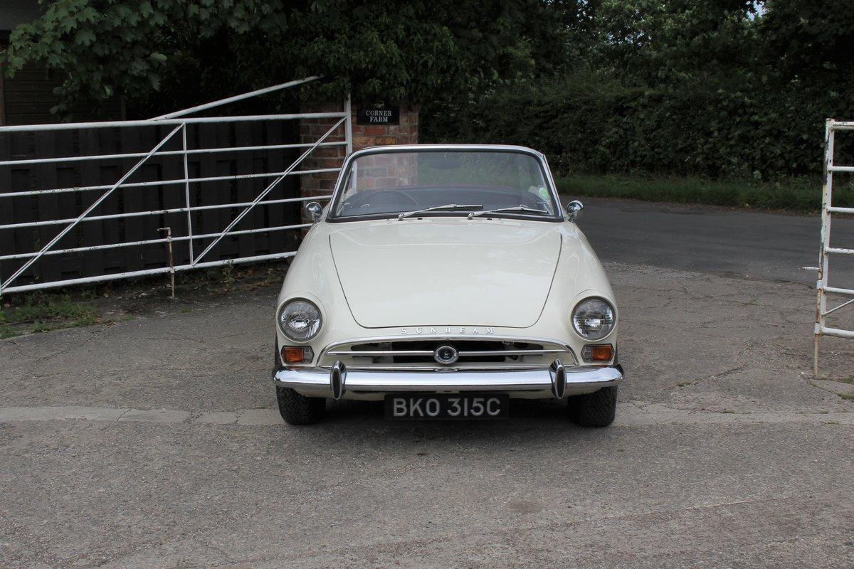 1965 Sunbeam Alpine Series IV 1725cc UK RHD For Sale (picture 2 of 20)