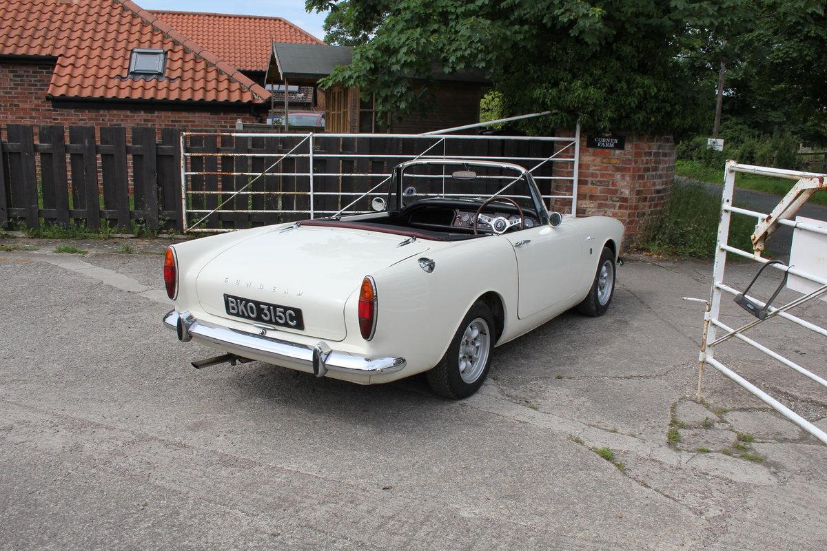 1965 Sunbeam Alpine Series IV 1725cc UK RHD For Sale (picture 6 of 20)