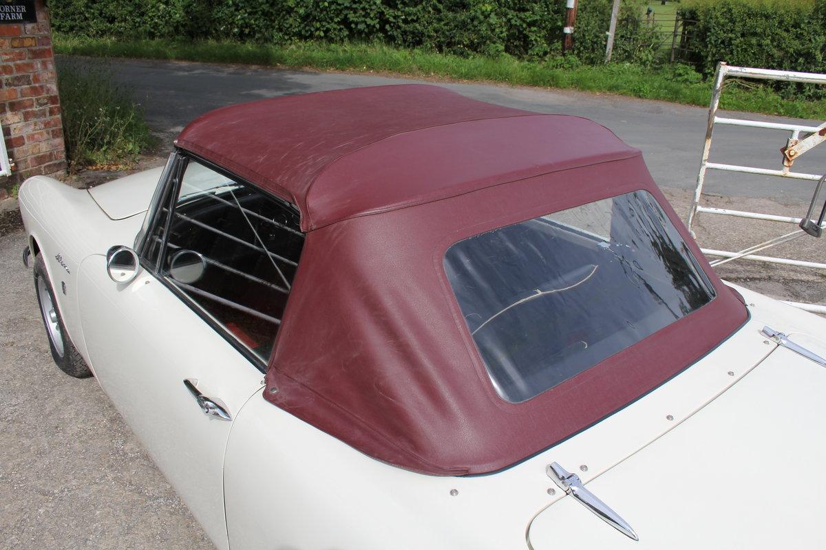 1965 Sunbeam Alpine Series IV 1725cc UK RHD For Sale (picture 17 of 20)