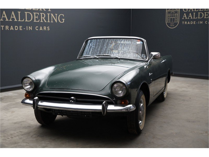 1965 Sunbeam Alpine Roadster LHD For Sale (picture 5 of 6)