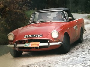 1965 Sunbeam Tiger LHD Rally Prepared