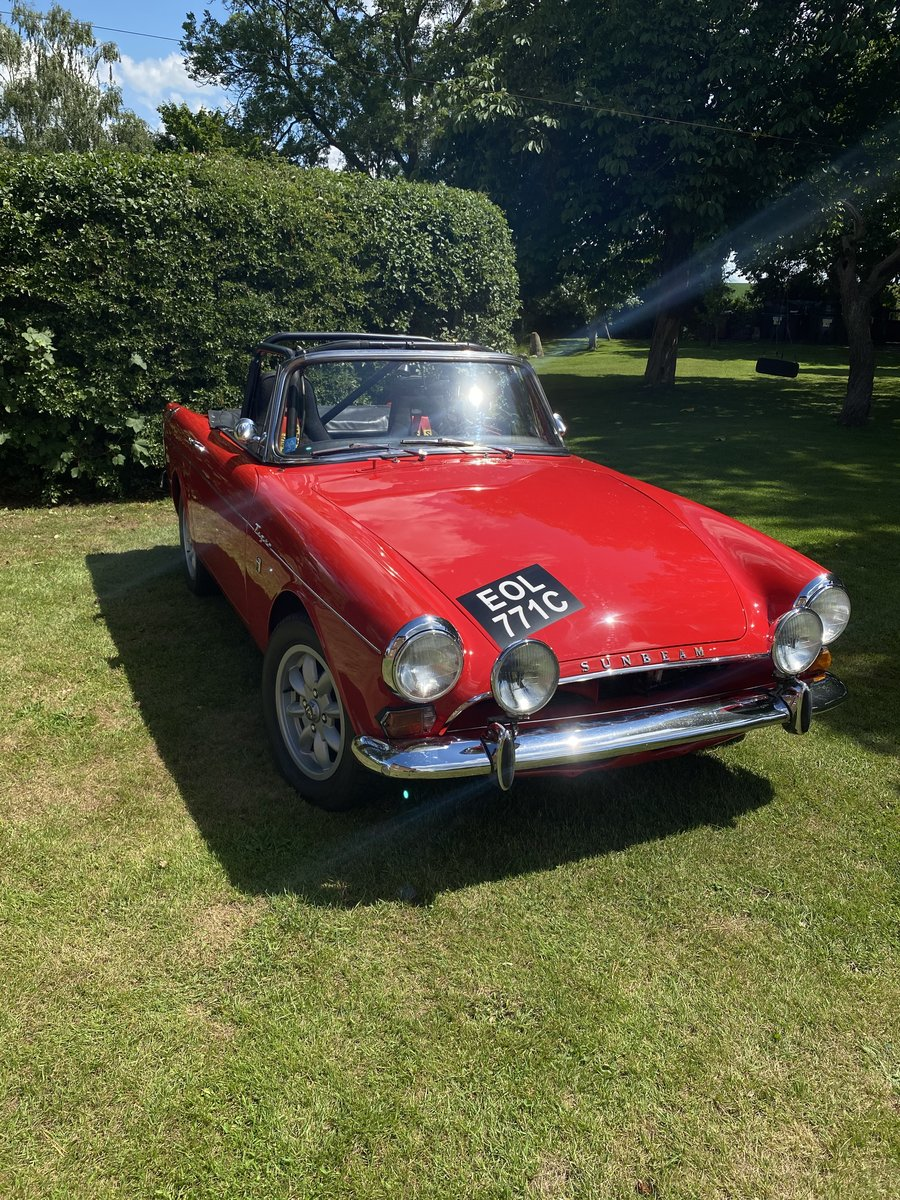 1965 Sunbeam Tiger LHD Rally Prepared For Sale (picture 2 of 6)