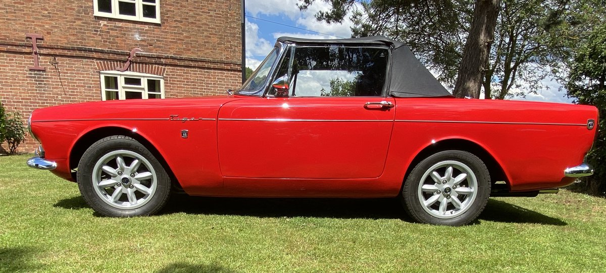1965 Sunbeam Tiger LHD Rally Prepared For Sale (picture 4 of 6)