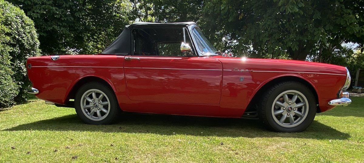 1965 Sunbeam Tiger LHD Rally Prepared For Sale (picture 5 of 6)