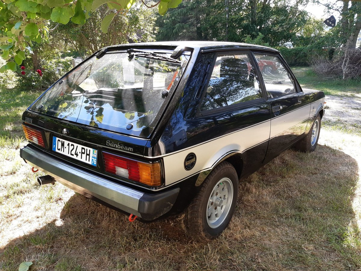 1981 Sunbeam Talbot Lotus For Sale (picture 5 of 6)
