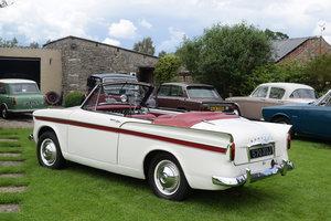 1961 SUNBEAM RAPIER SERIES III CONVERTIBLE - LOVELY, MOT! For Sale