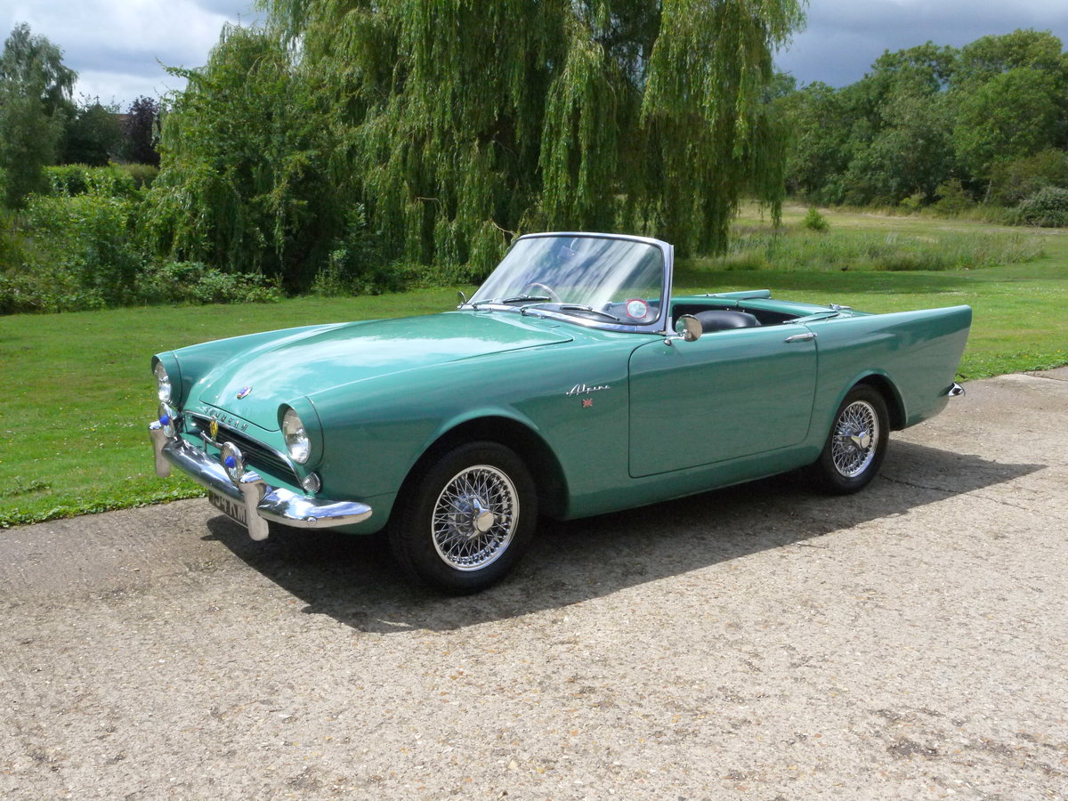 1960 Sunbeam Alpine MKI - Sorry Deposit Paid For Sale (picture 1 of 6)