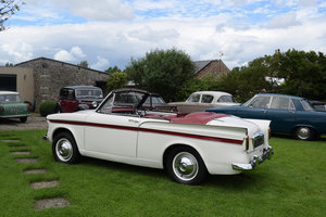 1961 SUNBEAM RAPIER SERIES III CONVERTIBE - PRETTY WITH MOT!
