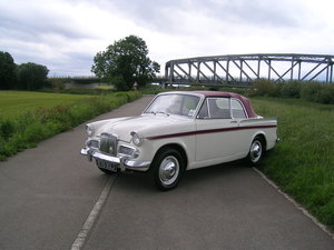 1961 Sunbeam Rapier Series 3 Convertible