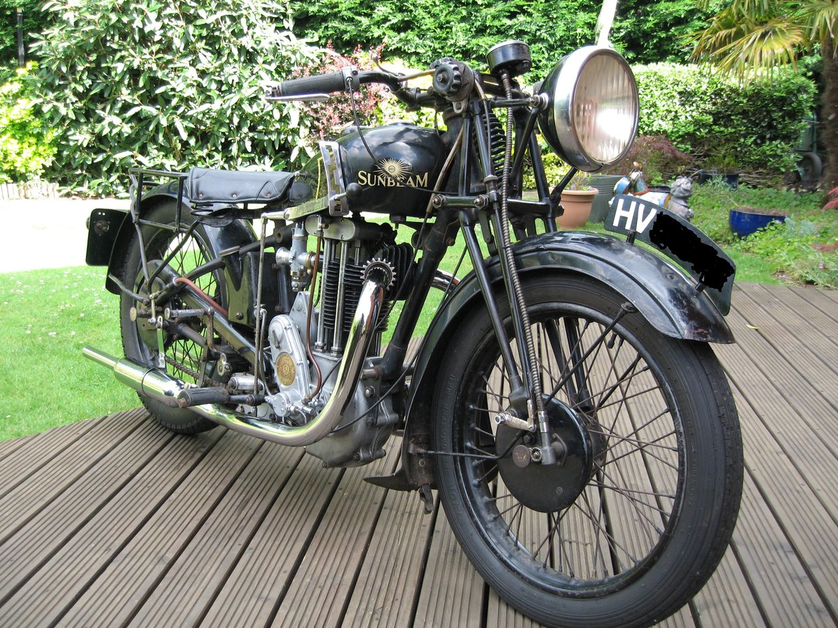 1935 Sunbeam Model 9a 600 cc OHV SOLD (picture 1 of 6)