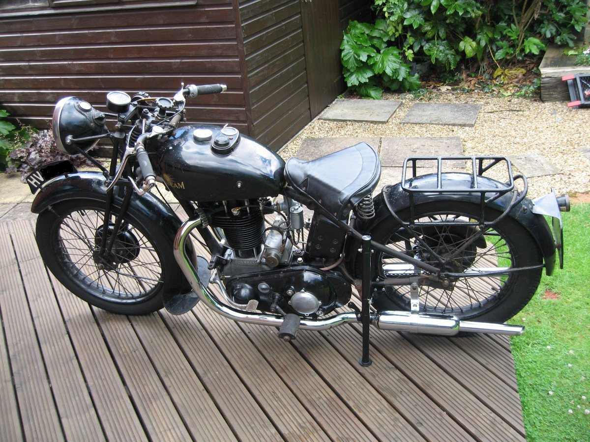 1935 Sunbeam Model 9a 600 cc OHV SOLD (picture 5 of 6)