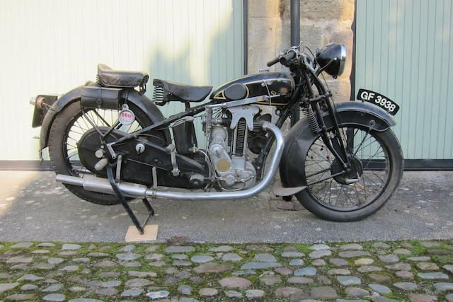 1930 SUNBEAM 493CC MODEL 9 (LOT 330) SOLD by Auction (picture 1 of 1)
