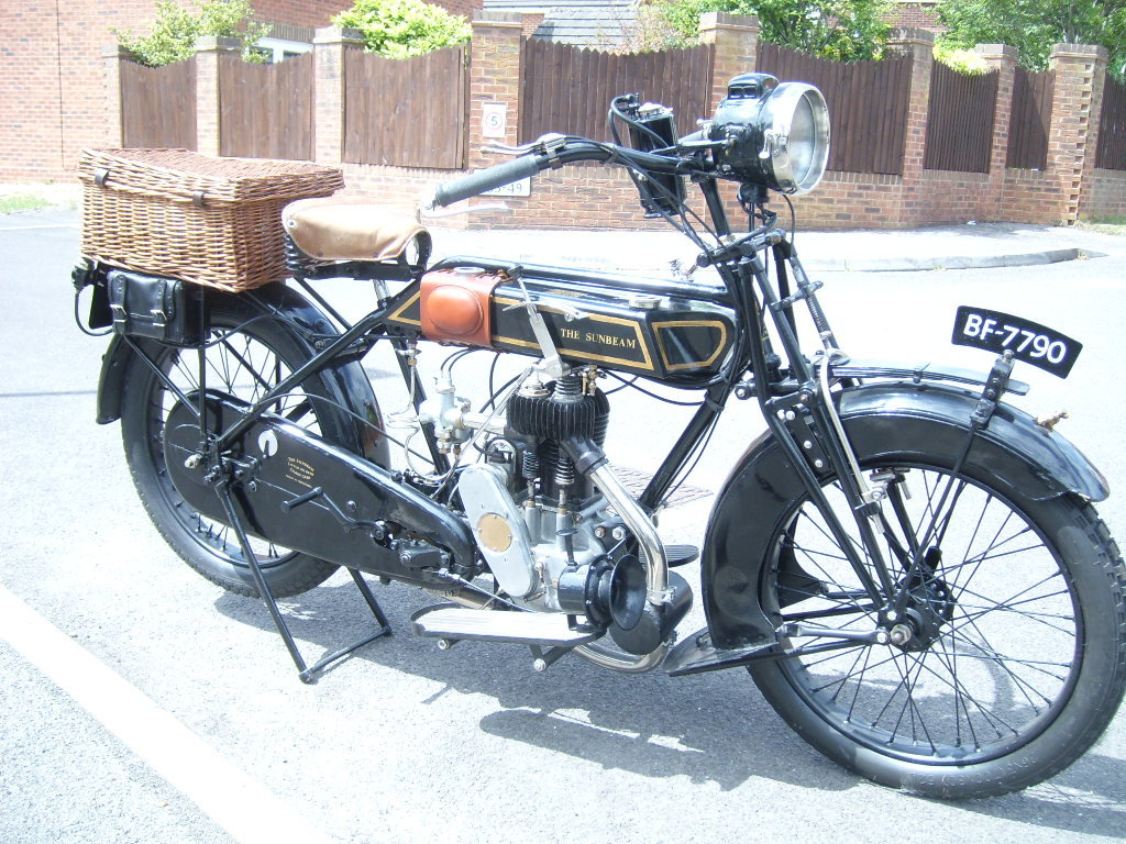 1920 Sunbeam Flat Tank For Sale (picture 1 of 6)