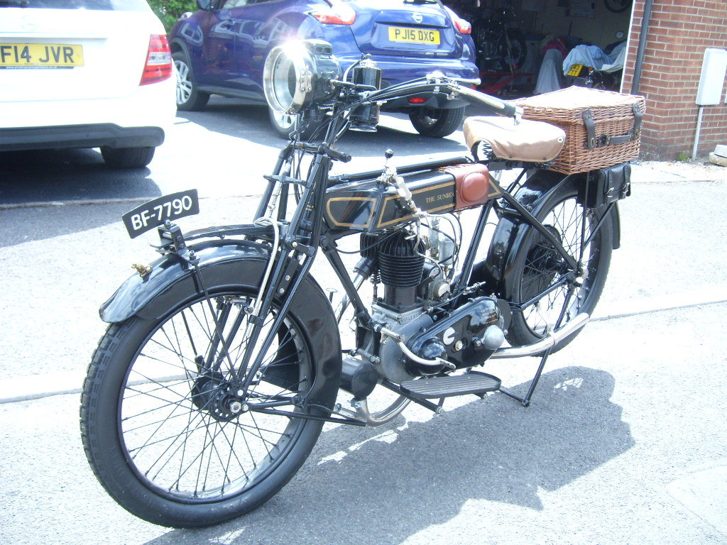 1920 Sunbeam Flat Tank For Sale (picture 2 of 6)
