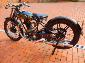 1931 SUNBEAM 344CC MODEL 10 (LOT 418)