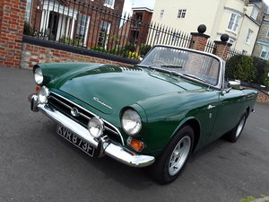 Sunbeam Alpine 1725 convertible restored