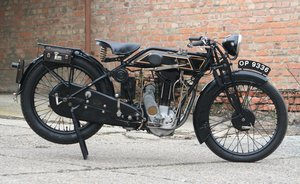 Sunbeam Model 9 1927 500cc OHV