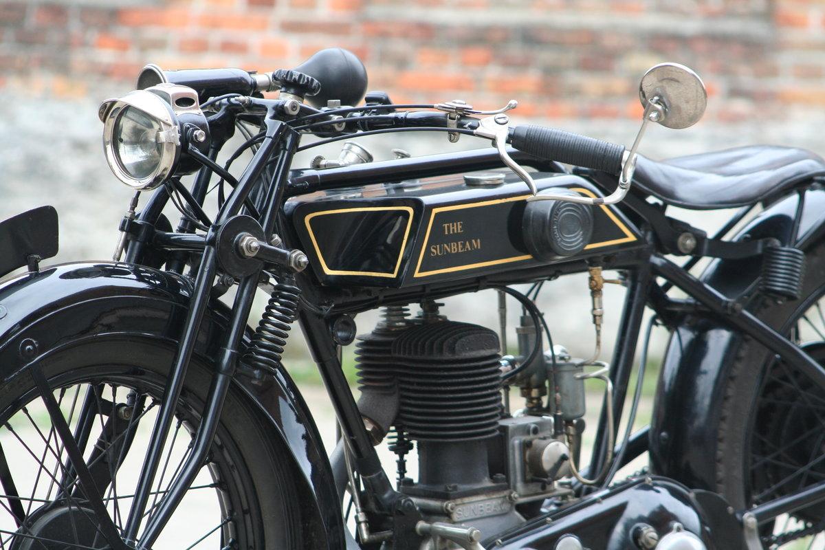 1928 Sunbeam Model 6 500cc Longstroke For Sale (picture 6 of 6)