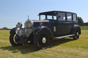 1931 SUNBEAM 18.2 FOUR DOOR SALOON For Sale