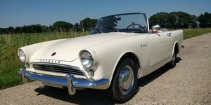 1960 Sunbeam Alpine '60  LHD