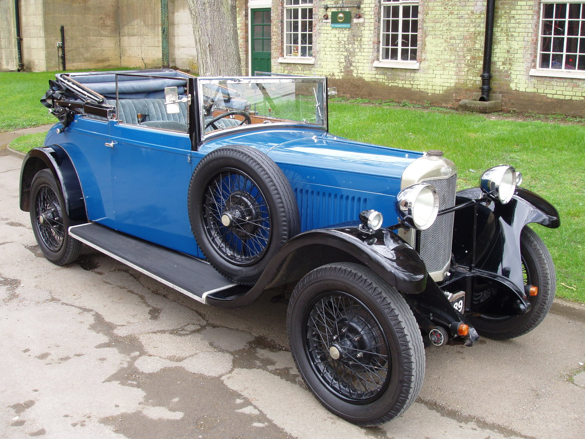 1929 Sunbeam 16.9 hp Drop-head Coupe by James Young For Sale (picture 1 of 6)