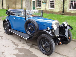 1929 Sunbeam 16.9 hp Drop-head Coupe by James Young