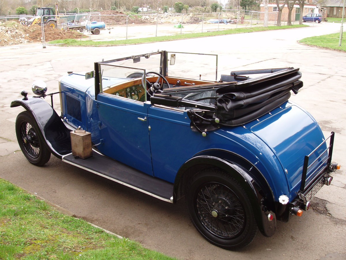 1929 Sunbeam 16.9 hp Drop-head Coupe by James Young For Sale (picture 2 of 6)