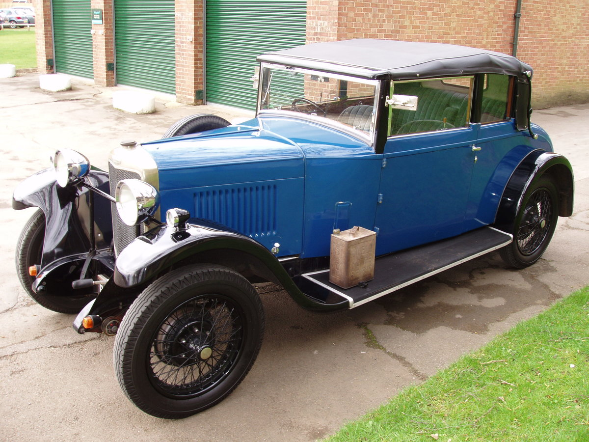 1929 Sunbeam 16.9 hp Drop-head Coupe by James Young For Sale (picture 3 of 6)