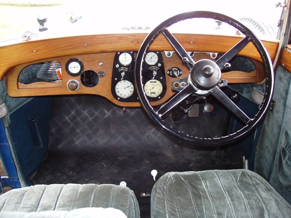 1929 Sunbeam 16.9 hp Drop-head Coupe by James Young For Sale (picture 4 of 6)