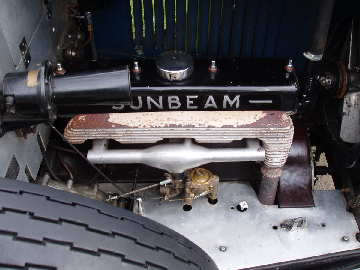 1929 Sunbeam 16.9 hp Drop-head Coupe by James Young For Sale (picture 6 of 6)