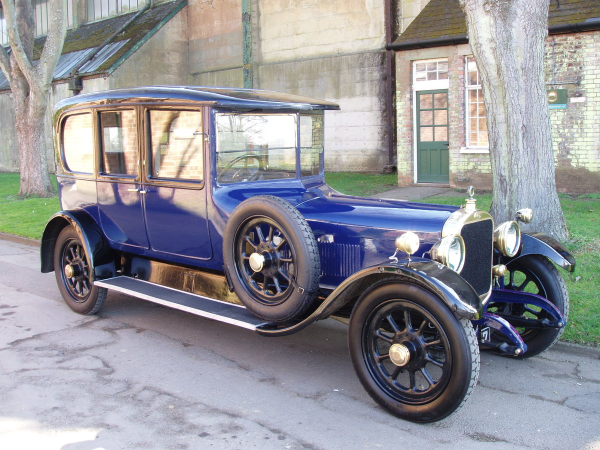 1921 Sunbeam 24 hp limousine by Cunard For Sale (picture 1 of 6)