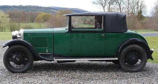 1929 Sunbeam Drophead Coupé 16.9