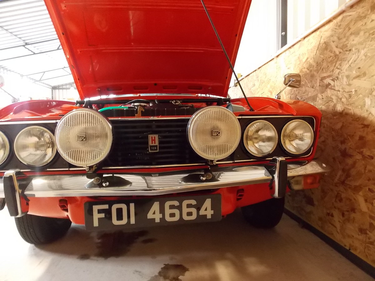 1973 Imaculate sunbeam rapier h120. For Sale (picture 2 of 6)