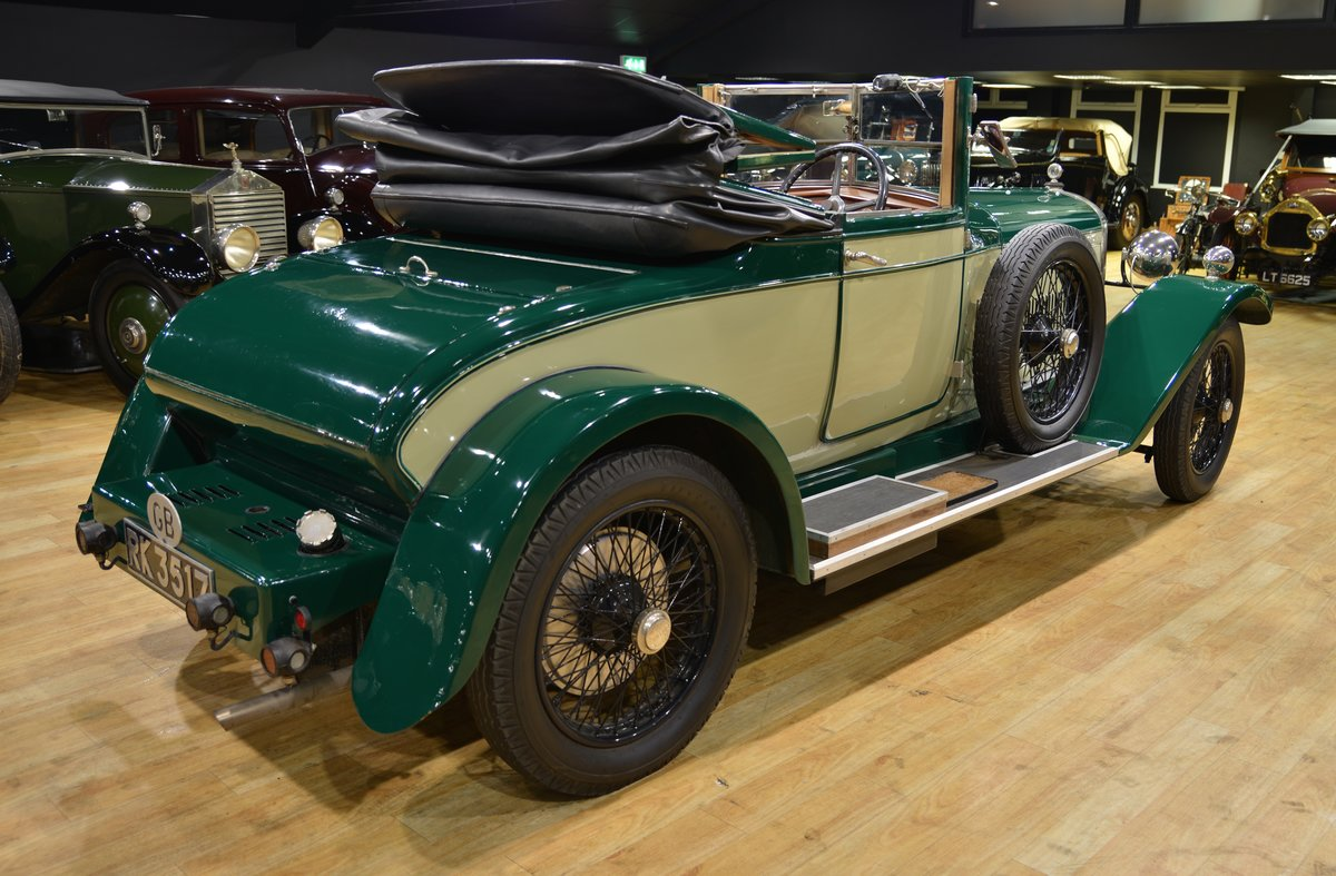 1925 SUNBEAM 20/60 SHORT CHASSIS SUPER SPORT DHC For Sale (picture 2 of 6)